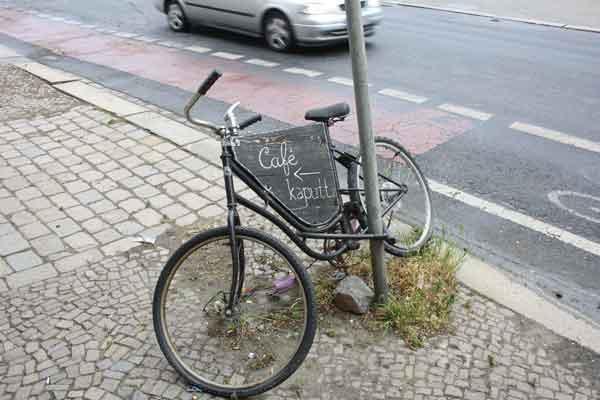 Café Kaputt in Leipzig